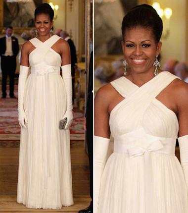 10 chiếc váy ấn tượng của đệ nhất phu nhân Mỹ - Michele Obama 1