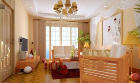 Treo ảnh cưới trong phòng khách là lựa chọn đầu tiên, thể hiện niềm hạnh phúc của chủ nhà.