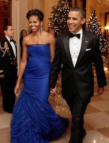 10 chiếc váy ấn tượng của đệ nhất phu nhân Mỹ - Michele Obama 2