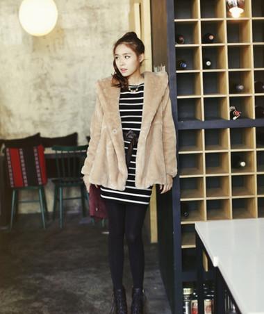 4. Áo lông + Legging/Quần skinny 2