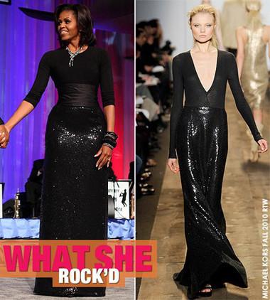 10 chiếc váy ấn tượng của đệ nhất phu nhân Mỹ - Michele Obama 3