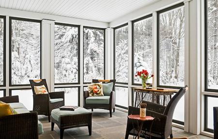 Trang trí hiên nhà mùa đông  4