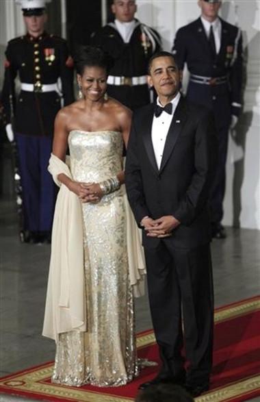 10 chiếc váy ấn tượng của đệ nhất phu nhân Mỹ - Michele Obama 4