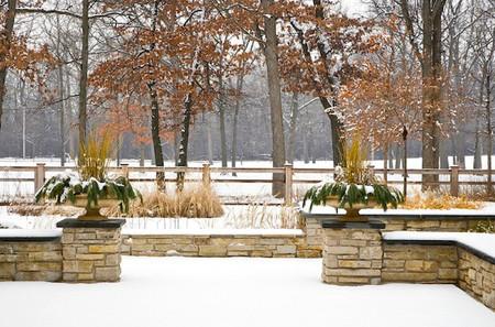 Trang trí hiên nhà mùa đông  5