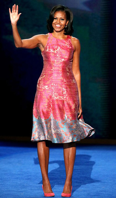 10 chiếc váy ấn tượng của đệ nhất phu nhân Mỹ - Michele Obama 6