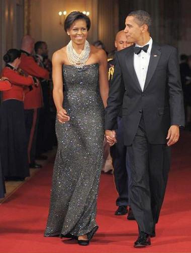10 chiếc váy ấn tượng của đệ nhất phu nhân Mỹ - Michele Obama 8