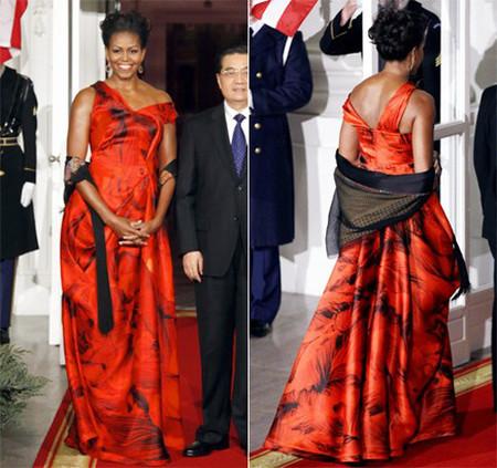 10 chiếc váy ấn tượng của đệ nhất phu nhân Mỹ - Michele Obama 9