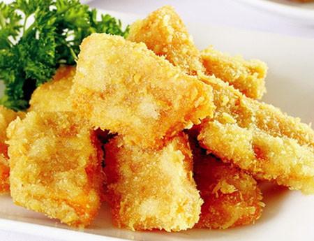 Món thịt gà chiên xù này chắc chắn bé nhà bạn sẽ rất thích.