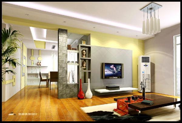 Sự kết hợp giữa phòng khách và không gian bếp 2