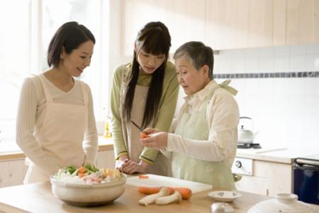 Từ nàng dâu đoảng chị Trang đã học hỏi và sau một thời gian nàng đã trở thành nàng dâu đảm.