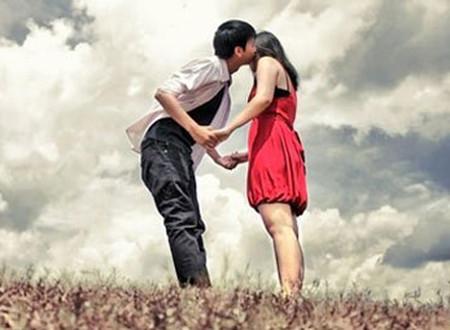 Người ấy đã trao cho tôi nụ hôn nồng nàn say đắm
