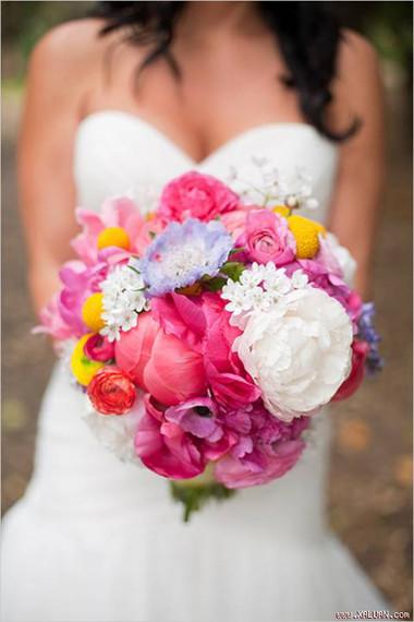 Những mẫu hoa cưới cầm tay cho cô dâu mùa Xuân/ Hè 12