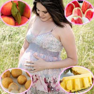 Mẹ bầu nên tránh hoặc ăn ít những loại quả gây nóng trong.