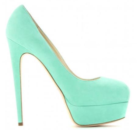 2. Giày màu pastel 2