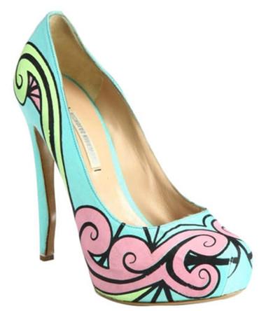 5. Giày họa tiết 2