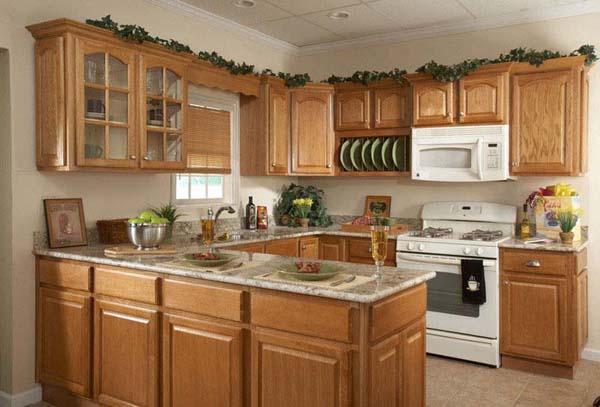 Tủ bếp bằng gỗ