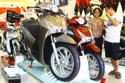 Giá xe SH Việt đang có xu hướng giảm