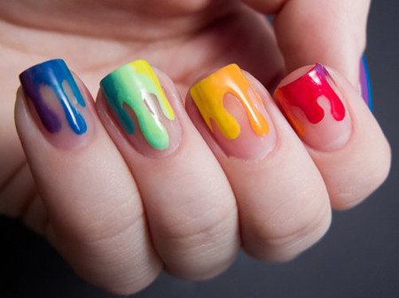 Khéo tay với kiểu nail nhỏ giọt 1
