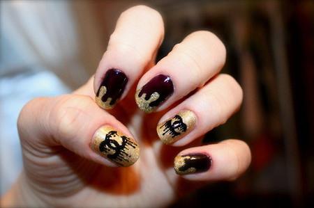 Khéo tay với kiểu nail nhỏ giọt 2