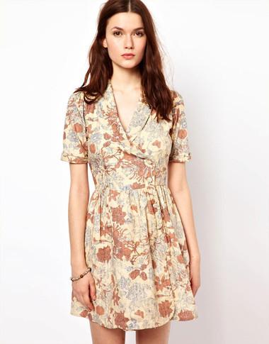 4. Wrap dress 1
