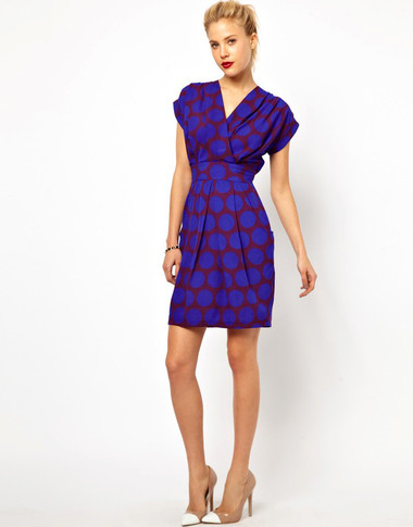 4. Wrap dress 3