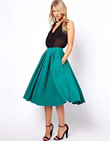 5. Chân váy mềm mại 2