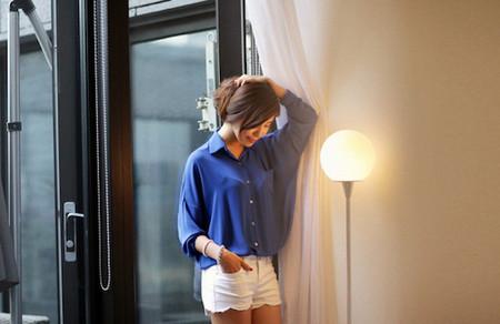 3. Quần shorts vải 3