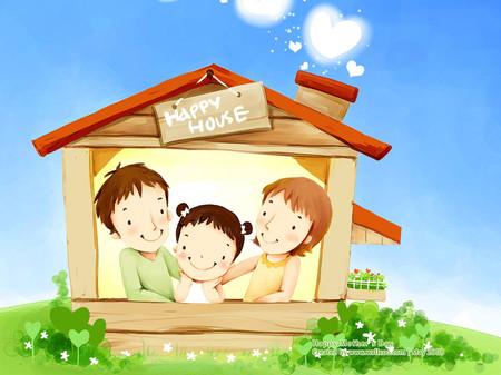 Niềm vui có được căn nhà  khiến gia đình tôi tưởng hạnh phúc đang mỉm cười với mình