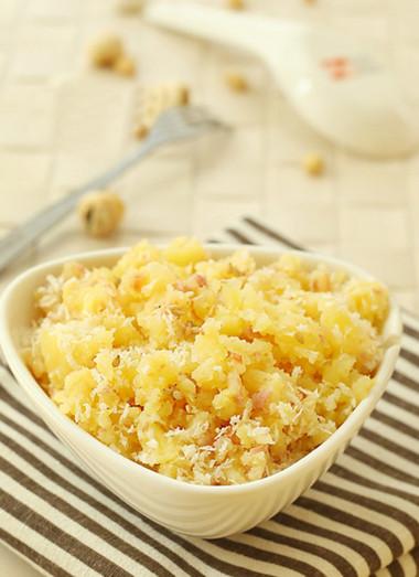Món khoai tây nghiền này làm nhanh, ngon miệng và rất tốt cho phát triển chiều cao của bé.