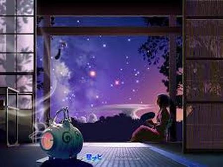 Hằng đêm em ngắm những vì sao mà lòng nhớ anh nhiều thêm...