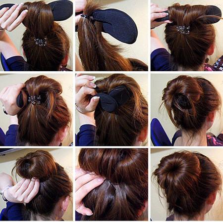 Dụng cụ búi tóc tròn 2