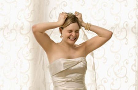 Càng gần đến ngày cưới, tâm trạng cô dâu tương lai này càng trở nên nặng nề.