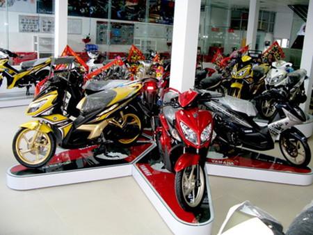 Ngày càng nhiều mẫu xe máy mới ra đời.