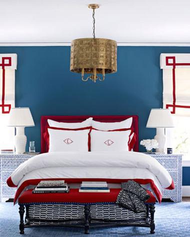 Phòng ngủ rực rỡ sắc màu ấn tượng và ấm cúng 10