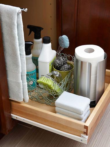 Bí quyết giúp phòng tắm nhỏ luôn gọn gàng, bừng sáng 10