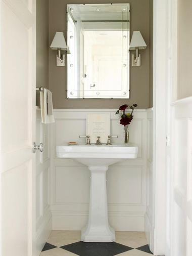 Bí quyết giúp phòng tắm nhỏ luôn gọn gàng, bừng sáng 16