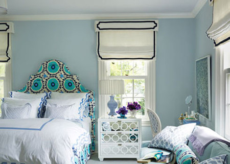 Phòng ngủ rực rỡ sắc màu ấn tượng và ấm cúng 3