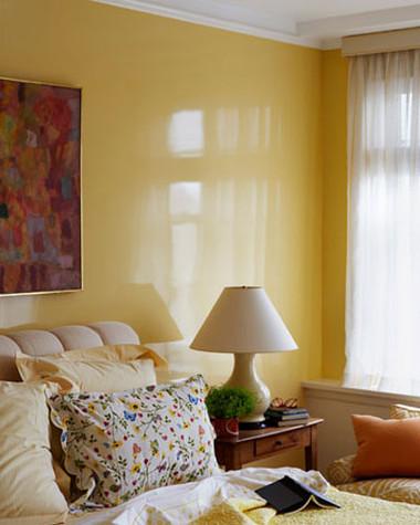 Phòng ngủ rực rỡ sắc màu ấn tượng và ấm cúng 6