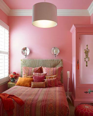 Phòng ngủ rực rỡ sắc màu ấn tượng và ấm cúng 8
