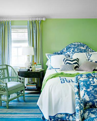 Phòng ngủ rực rỡ sắc màu ấn tượng và ấm cúng 9