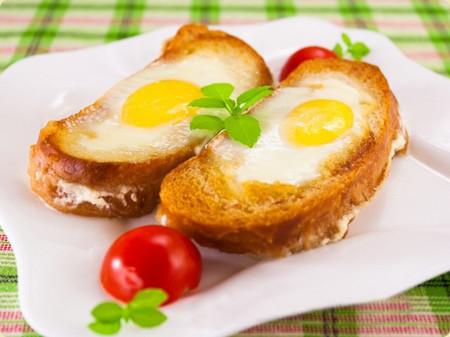 Bánh mỳ trứng thơm, giòn, ngọt và đậm đà hương vị.