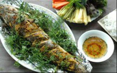 thịt cá ngọt, thơm mùi các loại gia vị và vàng ươm thật hấp dẫn!
