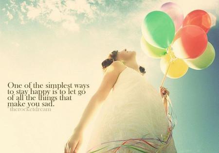 Một cách đơn giản nhất để có được hạnh phúc là bỏ qua tất cả những gì khiến bạn muộn phiền