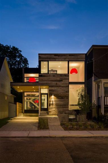 Ngôi nhà mang phong cách hiện đại đảm bảo cả 2 yếu tố tính năng và thẩm mỹ