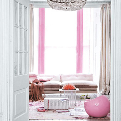 Lãng mạn không gian nhà bạn với sắc hồng 1