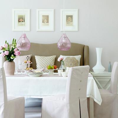 Lãng mạn không gian nhà bạn với sắc hồng 2