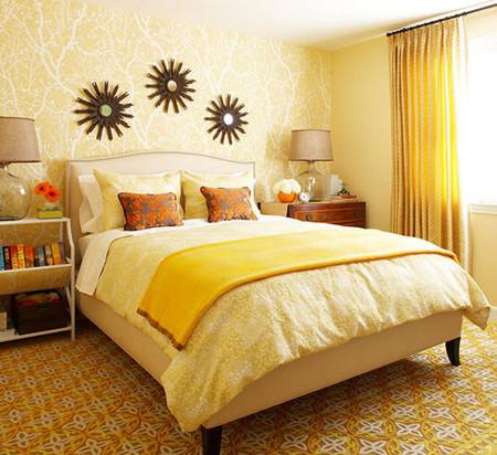 Phòng ngủ lãng mạn đậm chất Thu 2