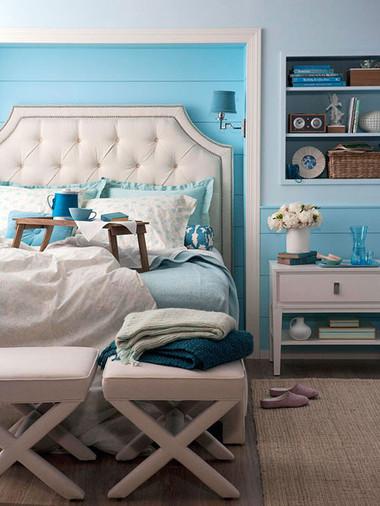 Phòng ngủ lãng mạn đậm chất Thu 4