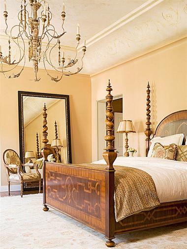 Gia chủ mệnh Thổ có thể sử dụng màu sắc như căn phòng này.