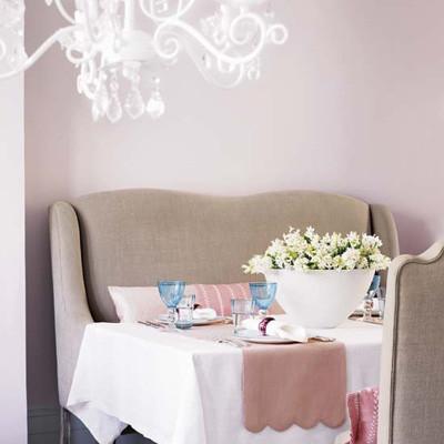 Lãng mạn không gian nhà bạn với sắc hồng 5